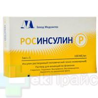 Росинсулин р инструкция по применению